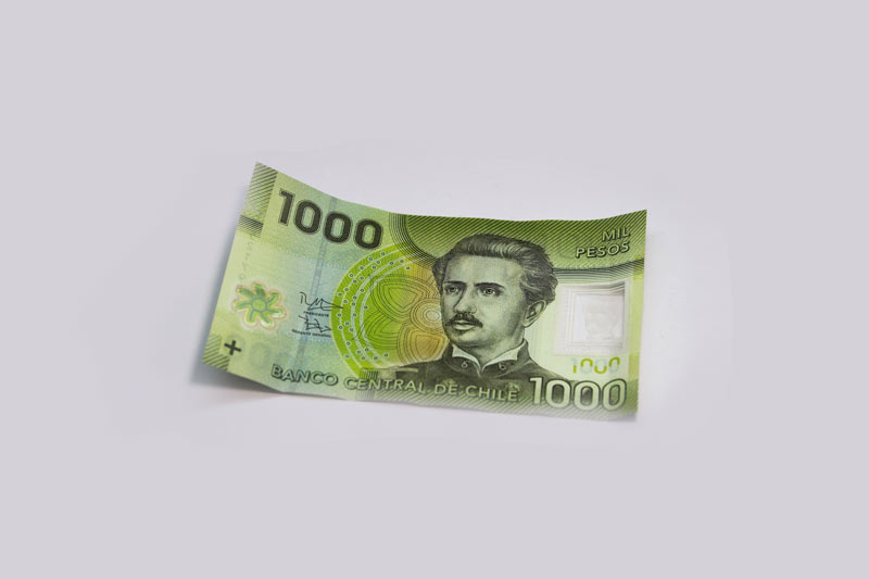 Are you worried about the devaluation of the Chilean Peso?